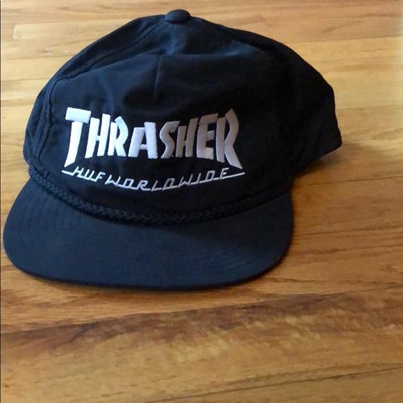 HUF Other - THRASHER X HUF WORLDWIDE NYLON SNAPBACK 9e2178e8e6c1